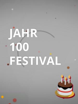jahrhundert festival
