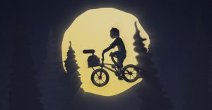 BMX vor Mondszene