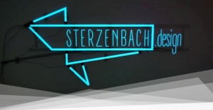 Neon Schild Sterzenbach design